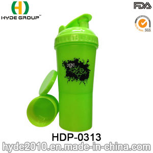 600ml Customized BPA Free PP Plastic Protein Shake Bottle (HDP-0313) pictures & photos