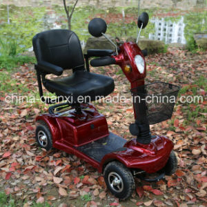 Four Wheel Motorcycle Electric Mobility Scooter for Elderly pictures & photos