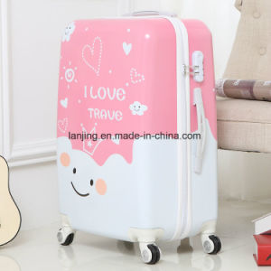 """Children Interested Hard Shell 20""""/24""""/28""""Size Colourful Travel Trolley Luggage Bag pictures & photos"""
