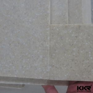 Pure White Color Scratched Resistance Quartz Stone Slab pictures & photos