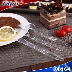 100% Feedback Hollowed-out Plastic Cutlery Jx164 pictures & photos