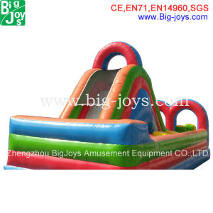 Small Inflatable Obstacle Course for Sale, Cheap Inflatable Obstacle with Slide pictures & photos