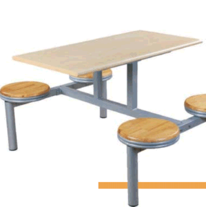 Hot Sale Fast Food Restaurant Table and Seat pictures & photos