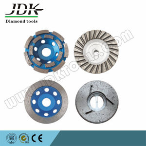 Continuous Segment Diamond Grinding Cup Wheel for Marble pictures & photos