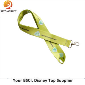 New Fashion Polyester Double Logo Design Lanyard pictures & photos
