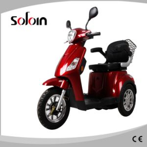 Aged People 3 Wheel Power Mobility Electric Motorcycle (SZE500S-5) pictures & photos