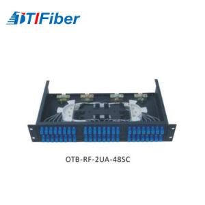 1 U 36 Port Sc /PC Fiber Optic Patch Panel pictures & photos