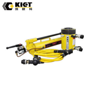 Kiet Double Acting Hollow Plunger Hydraulic Cylinder pictures & photos