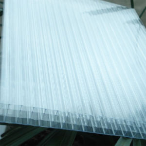 Cold Resistance Four Wall Hollow Polycarbonate Sheet for European Market pictures & photos