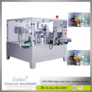 Automatic Salt Zipper Bag Filling and Sealing Packing Machine pictures & photos