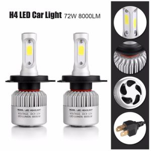 S2 COB/Csp 72W H11 LED Headlight Bulbs pictures & photos
