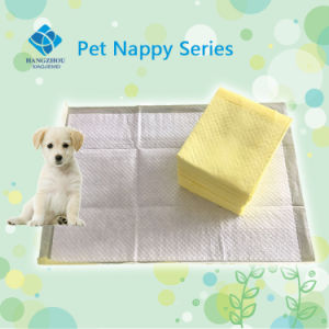 Super Absorbent Puppy Training Pad with Top Printed pictures & photos