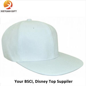 Making Pure White 6 Panel Cap/Baseball Cap/Gift Cap pictures & photos