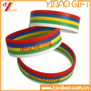 Hot Selling Promotion Silicone Wristband/Bracelet for Gift (YB-SM-11) pictures & photos