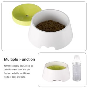 No Spill Proof Water Bowl Slow Feeder 1000ml pictures & photos