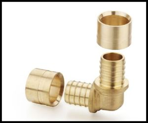 High Quality Brass Sliding Fittings for Pex Pipe with Cstb pictures & photos