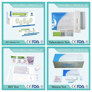 Medical Supply for Testing Pregnancy, HIV, HAV/HBV/Hev, Gonorrhea, Std, Malaria, Tb, Dengue, Alcohol pictures & photos