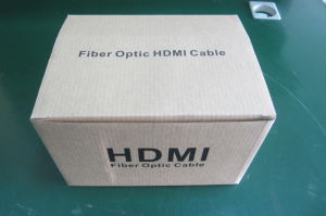 300m Long HDMI Fiber Optic Cable pictures & photos