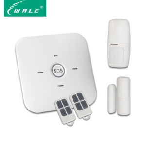10 Zones Smart Security GSM Alarm System with Big Sos-Button pictures & photos