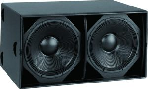 Dual 18 Inch PRO Subwoofer System Wooden Outdoor Stage Passive Speaker pictures & photos