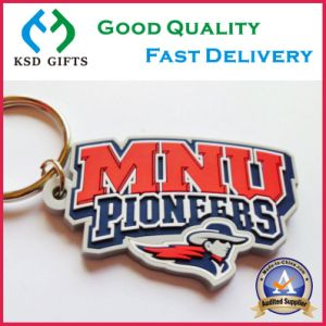 Cute Custom Plastic PVC Keyrings at Factory Low Price pictures & photos
