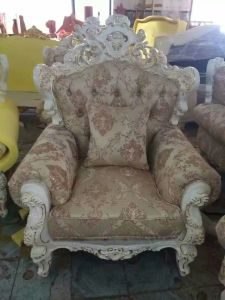 Modern Royal Sofa for Wedding Love Seat Bride and Groom Chair pictures & photos