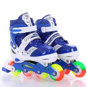 Simple Design Kids Inline Roller Skate Shoes Adjustable Skate pictures & photos