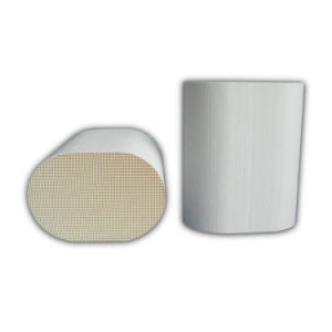 Cordierite Honeycomb Ceramic Monolith Substrate Core for Petrol Catalytic Converter pictures & photos