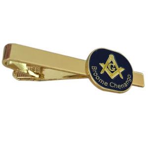Custom Metal Masonic Logo Tie Clip for Gift (XDTC-04) pictures & photos