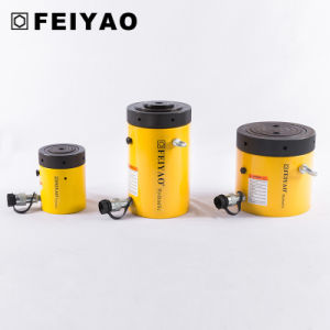 High Tonnage Load Return Lock Nut Hydraulic Cylinder Jack (Fy-Cll) pictures & photos