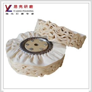 Cotton Airwing Wheel for Stainless Steel Surface Polishing pictures & photos