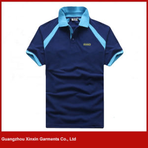Custom Men Sublimation Printing Polo Shirts for Worker (P80) pictures & photos