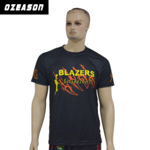 Fashionable Dri Fit Subliamtion Polyester Hip Hop Polo Sports Wear T Shirt pictures & photos