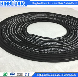 Smooth Surface & Cloth Surface Embossed Hydraulic Hose En 853 2sn pictures & photos