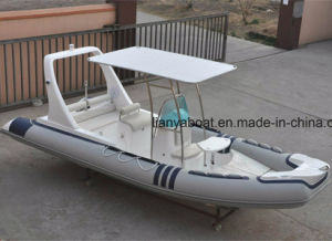 Liya 6.2m Commercial Inflatable Boat Navy Rib Boat Manufacturers pictures & photos
