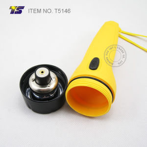 2AA Size Waterproof Floating LED Flashlight (T5146) pictures & photos