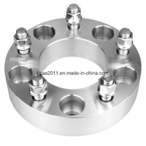CNC Turning Parts Precision Aluminum 6061 Wheel Spacers Adapter pictures & photos