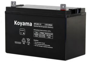 12V 100ah Rechargeable Maintenance Free AGM VRLA Battery pictures & photos