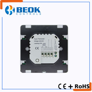Square LCD Display Color Backlight Thermostat for Heat Cable pictures & photos