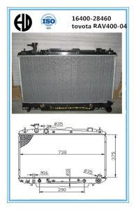 Aluminum Brazed Welding Car Radiator for Toyota Corona pictures & photos