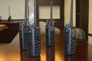 VHF P25 Handheld Radio, P25 Radio with GPS /Bulid in Bluetooth /AES-256 Encryption Function pictures & photos