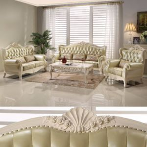 Wooden Fabric Sofa for Living Room Furniture (992R) pictures & photos