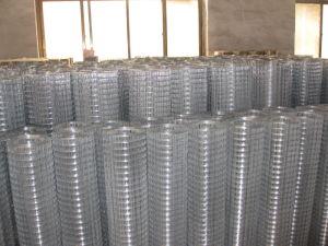 High Quality Black Welded Wire Mesh (A142 A98) pictures & photos