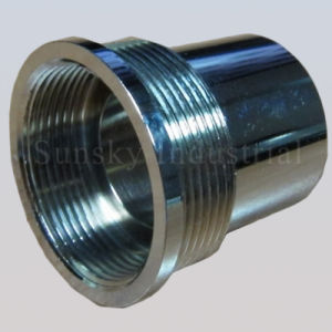 Connection Evacuation Nickel Plated CNC Turning Bicycle Parts pictures & photos