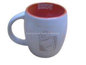 Ceramic Ebossed Coffee Cup