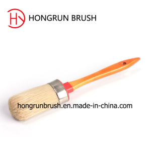 Round Paint Brush with Wooden Handle (HYR077) pictures & photos