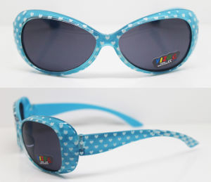 Plastic Injection Kids Frame Sunglasses (XZ045) pictures & photos