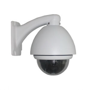 IP-650h H. 264 480tvl Wired CCD Dome IP Camera PTZ Outdoor 10X Zooming pictures & photos