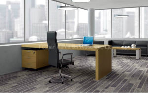 2015 Fantastic Simple Design Office Manager Desk (HF-LTA052) pictures & photos