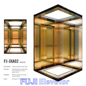 Lucury Passenger Elevator Lift with Glass Mirror Price pictures & photos